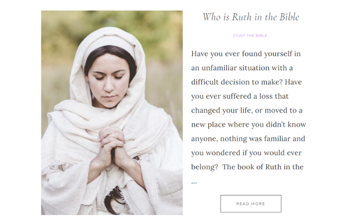 Who Is Ruth In The Bible?
